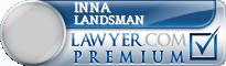 Inna Shtivelband Landsman  Lawyer Badge