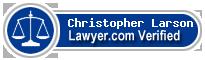 Christopher J. Larson  Lawyer Badge