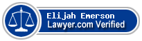 Elijah Emerson  Lawyer Badge