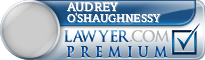 Audrey Heidt O'Shaughnessy  Lawyer Badge