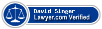 David P. Singer  Lawyer Badge