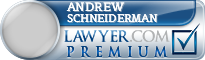 Andrew M. Schneiderman  Lawyer Badge