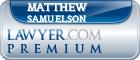 Matthew Carl Samuelson  Lawyer Badge