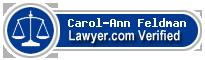 Carol-Ann Feldman  Lawyer Badge