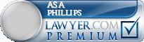 Asa Emory Phillips  Lawyer Badge