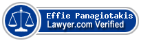 Effie Panagiotakis  Lawyer Badge