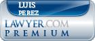 Luis G. Perez  Lawyer Badge