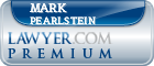 Mark Pearlstein  Lawyer Badge