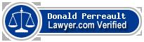 Donald Joseph Perreault  Lawyer Badge