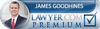 James R. Goodhines  Lawyer Badge