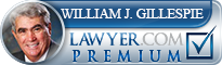 William J. Gillespie  Lawyer Badge
