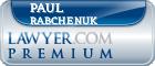Paul Thomas Rabchenuk  Lawyer Badge