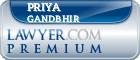 Priya Gandbhir  Lawyer Badge