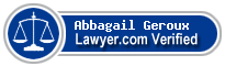 Abbagail Catherine Geroux  Lawyer Badge