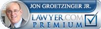 Jon Groetzinger  Lawyer Badge