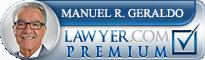 Manuel Robert Geraldo  Lawyer Badge