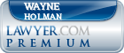 Wayne Anthony Holman  Lawyer Badge