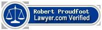 Robert Schaffer Proudfoot  Lawyer Badge