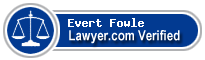 Evert N. Fowle  Lawyer Badge