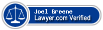 Joel Arthur Greene  Lawyer Badge
