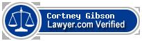 Cortney Nichole Gibson  Lawyer Badge
