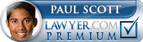 Paul Harold Scott  Lawyer Badge