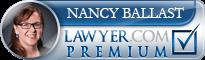 Nancy Loukus Ballast  Lawyer Badge