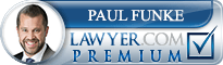Paul Day Funke  Lawyer Badge