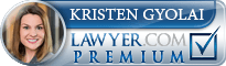 Kristen Gyolai  Lawyer Badge