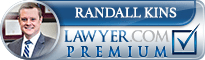 Randall A. Kins  Lawyer Badge