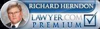 Richard Joseph Herndon  Lawyer Badge