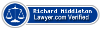 Richard Temple Middleton  Lawyer Badge