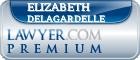 Elizabeth Ann Delagardelle  Lawyer Badge