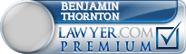 Benjamin Dodd Thornton  Lawyer Badge