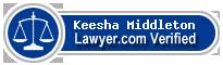 Keesha Denise Middleton  Lawyer Badge
