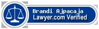 Brandi Lynn Ajpacaja  Lawyer Badge