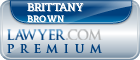 Brittany White Brown  Lawyer Badge