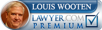 Louis Wooten  Lawyer Badge