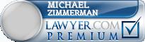 Michael Eugene Zimmerman  Lawyer Badge