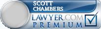 Scott Emory Chambers  Lawyer Badge