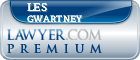 Les J. Gwartney  Lawyer Badge
