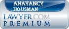 Anayancy Housman  Lawyer Badge
