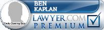 Ben Kaplan  Lawyer Badge