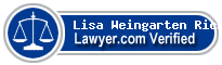 Lisa Weingarten Richards  Lawyer Badge