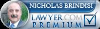 Nicholas Brindisi  Lawyer Badge