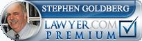 Stephen Goldberg  Lawyer Badge