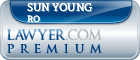 Sun Young Ro  Lawyer Badge