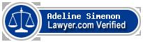 Adeline Anna-Maria Simenon  Lawyer Badge