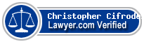 Christopher James Cifrodello  Lawyer Badge