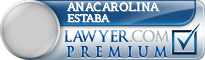 Anacarolina Estaba  Lawyer Badge